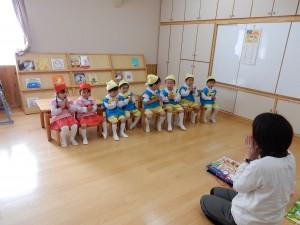 年少・満三歳児 園内リハーサル