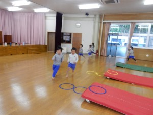 橋詰先生体育の指導日