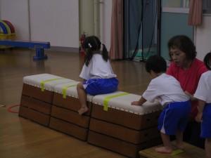 橋詰先生体育指導日